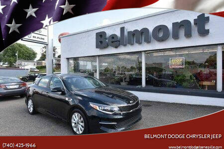 2016 Kia Optima for sale at BELMONT DODGE CHRYSLER JEEP in Barnesville OH