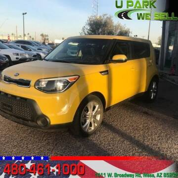 2014 Kia Soul for sale at UPARK WE SELL AZ in Mesa AZ