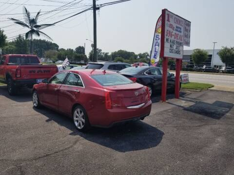 2013 Cadillac ATS for sale at 1st Choice Auto Sales in Newport News VA