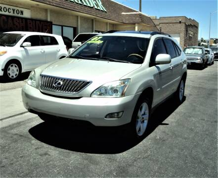 2007 Lexus RX 350 for sale at DESERT AUTO TRADER in Las Vegas NV