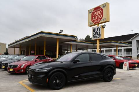2021 Ford Mustang Mach-E for sale at Houston Used Auto Sales in Houston TX