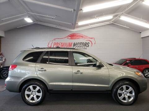 2009 Hyundai Santa Fe for sale at Premium Motors in Villa Park IL
