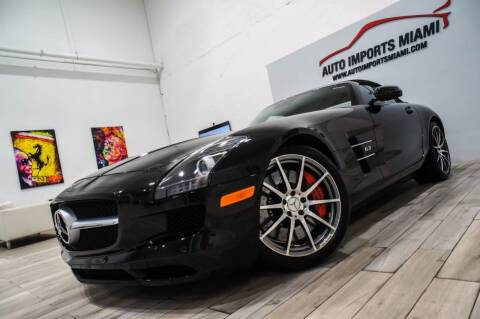 2012 Mercedes-Benz SLS AMG for sale at AUTO IMPORTS MIAMI in Fort Lauderdale FL