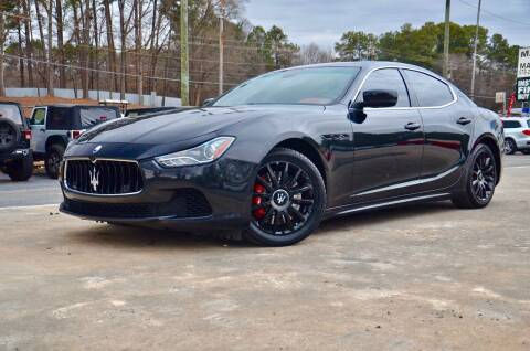 2014 Maserati Ghibli for sale at Marietta Auto Mall Center in Marietta GA