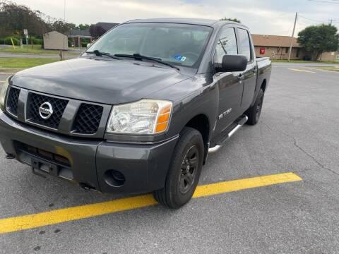 2007 Nissan Titan for sale at PREMIER AUTO SALES in Martinsburg WV