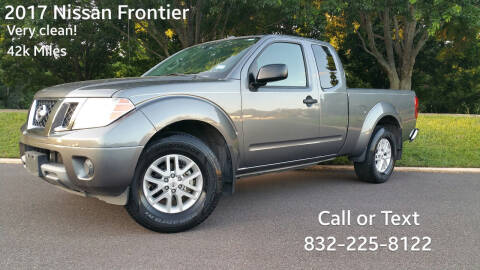 2017 Nissan Frontier for sale at Houston Auto Preowned in Houston TX