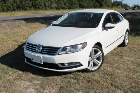 2013 Volkswagen CC for sale at Elite Car Care & Sales in Spicewood TX