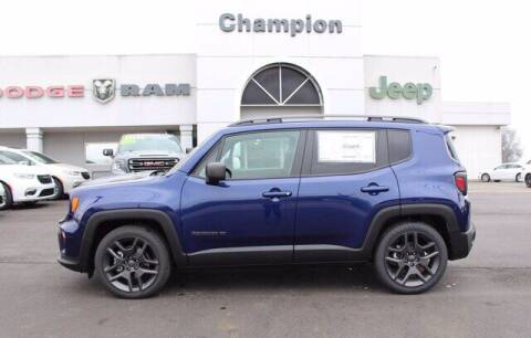 2021 Jeep Renegade for sale at Champion Chevrolet in Athens AL