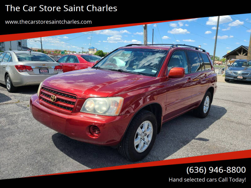 2003 Toyota Highlander for sale at The Car Store Saint Charles in Saint Charles MO