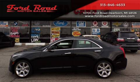 2014 Cadillac ATS for sale at Ford Road Motor Sales in Dearborn MI