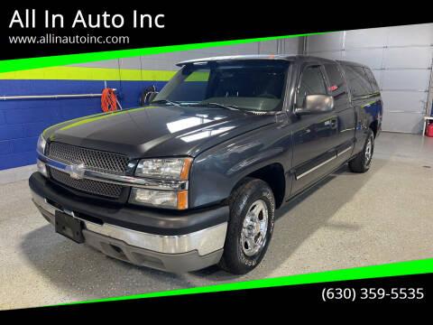 2003 Chevrolet Silverado 1500 for sale at All In Auto Inc in Addison IL