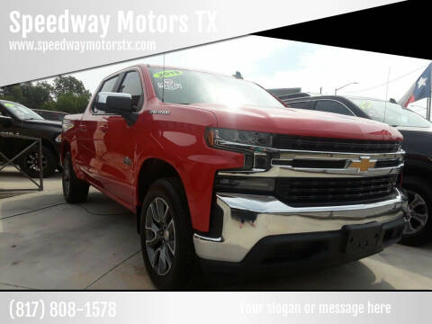 2019 Chevrolet Silverado 1500 for sale at Speedway Motors TX in Fort Worth TX