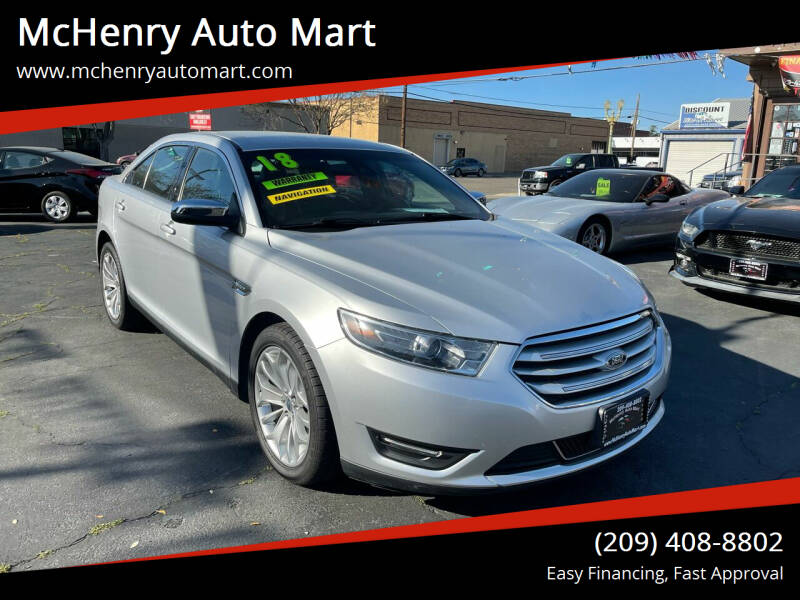 2018 Ford Taurus for sale at McHenry Auto Mart in Turlock CA