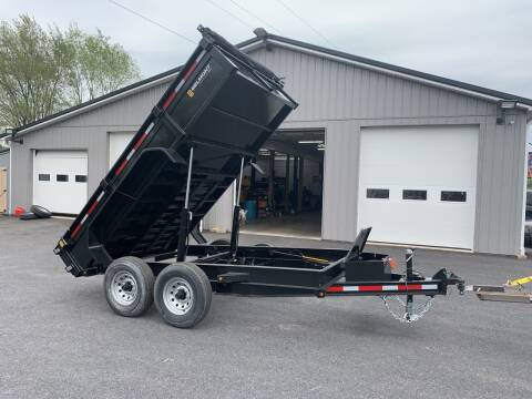 2020 Belmont 7x12 12k Dump Trailer for sale at Smart Choice 61 Trailers in Shoemakersville PA