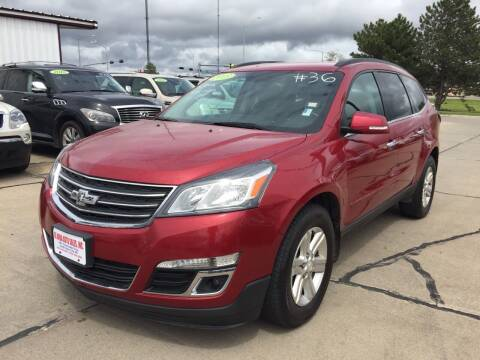 2013 Chevrolet Traverse for sale at De Anda Auto Sales in South Sioux City NE
