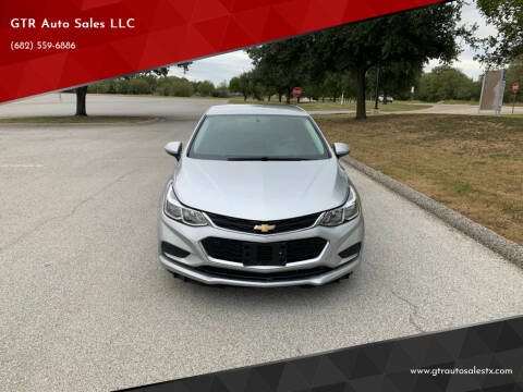 2017 Chevrolet Cruze for sale at GTR Auto Sales LLC in Haltom City TX