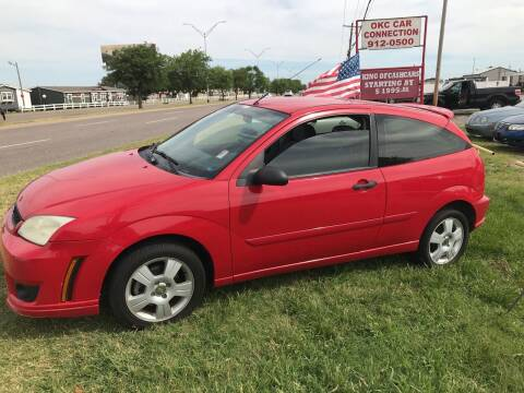 2007 Ford Focus for sale at OKC CAR CONNECTION in Oklahoma City OK