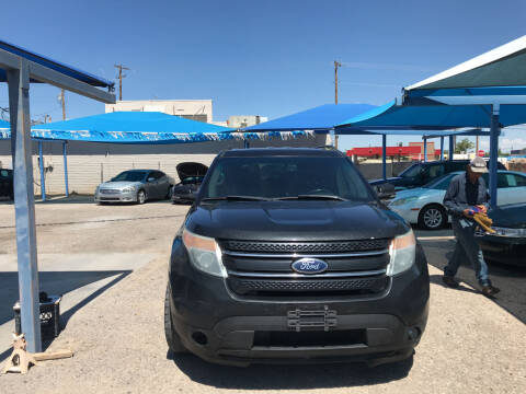 2013 Ford Explorer for sale at Autos Montes in Socorro TX