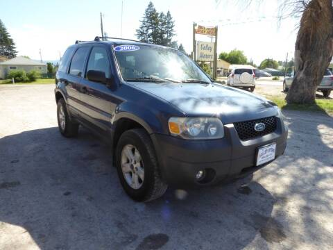 2006 Ford Escape for sale at VALLEY MOTORS in Kalispell MT