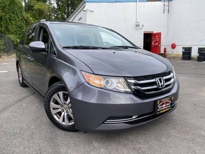 2014 Honda Odyssey for sale at JerseyMotorsInc.com in Teterboro NJ
