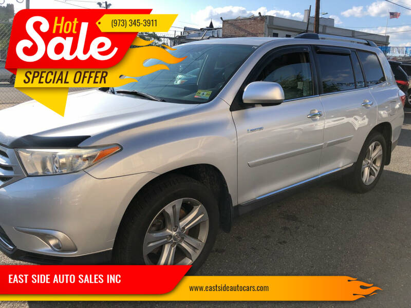 2012 Toyota Highlander for sale at EAST SIDE AUTO SALES INC in Paterson NJ
