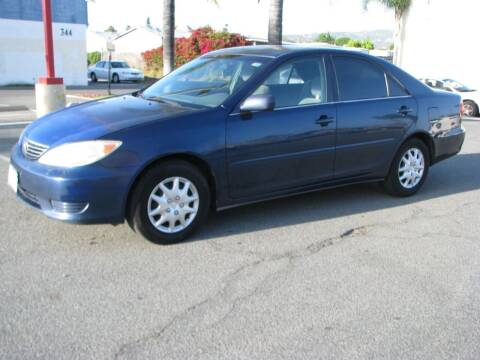 2005 Toyota Camry for sale at M&N Auto Service & Sales in El Cajon CA