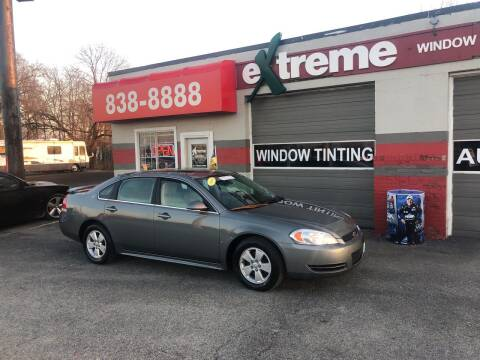 2009 Chevrolet Impala for sale at Extreme Auto Sales in Plainfield IN
