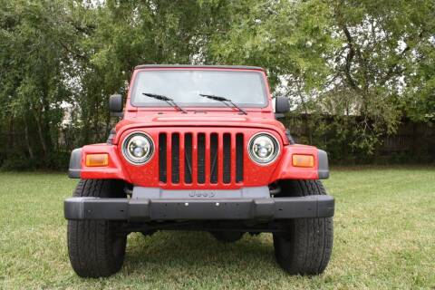 2004 Jeep Wrangler for sale at Fabela's Auto Sales Inc. in Dickinson TX