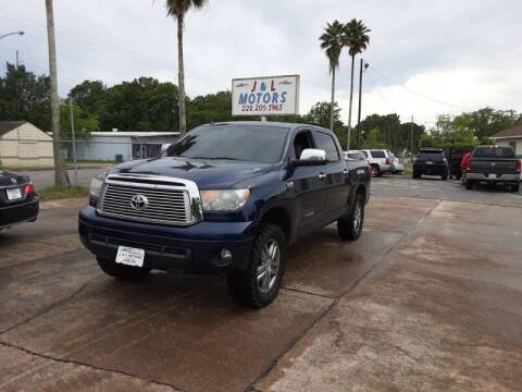 2012 Toyota Tundra for sale at J & L Motors in Pascagoula MS
