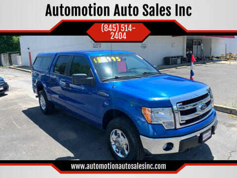 2013 Ford F-150 for sale at Automotion Auto Sales Inc in Kingston NY