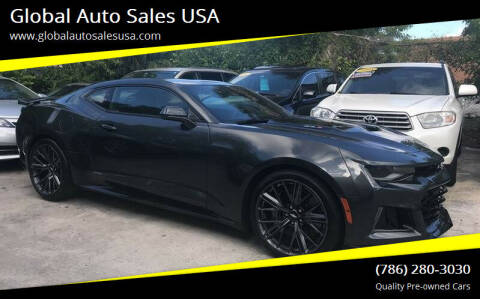 2018 Chevrolet Camaro for sale at Global Auto Sales USA in Miami FL