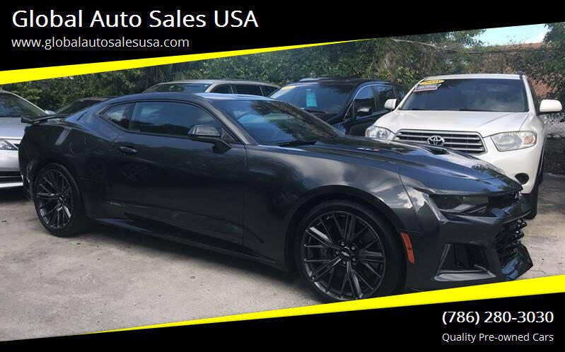 2018 Chevrolet Camaro for sale at Global Auto Sales USA in Miami FL