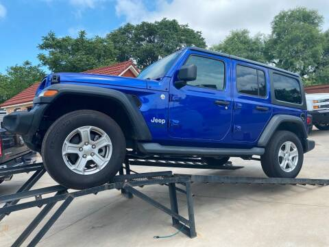 2019 Jeep Wrangler Unlimited for sale at Speedway Motors TX in Fort Worth TX