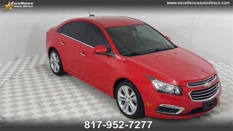2016 Chevrolet Cruze Limited for sale at Excellence Auto Direct in Euless TX