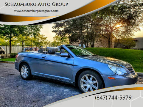 2008 Chrysler Sebring for sale at Schaumburg Auto Group in Schaumburg IL