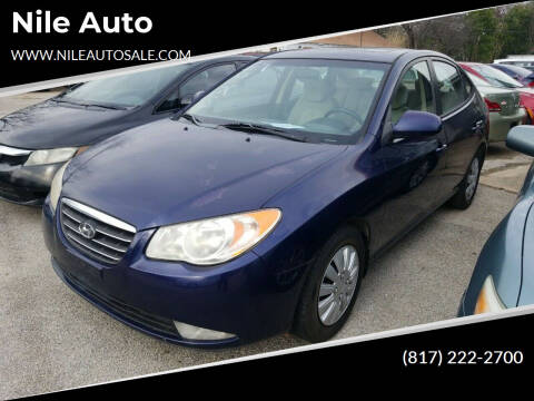 2008 Hyundai Elantra for sale at Nile Auto in Fort Worth TX
