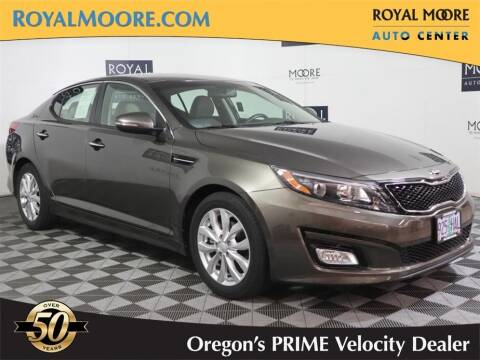 2015 Kia Optima for sale at Royal Moore Custom Finance in Hillsboro OR