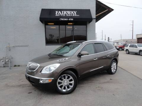 2010 Buick Enclave for sale at FAIRWAY AUTO SALES, INC. in Melrose Park IL