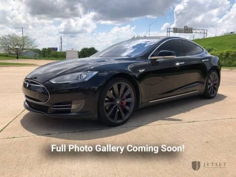2014 Tesla Model S for sale at Jetset Automotive - Electric Cars in Cedar Rapids IA