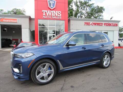 2021 BMW X7 for sale at Twins Auto Sales Inc in Detroit MI