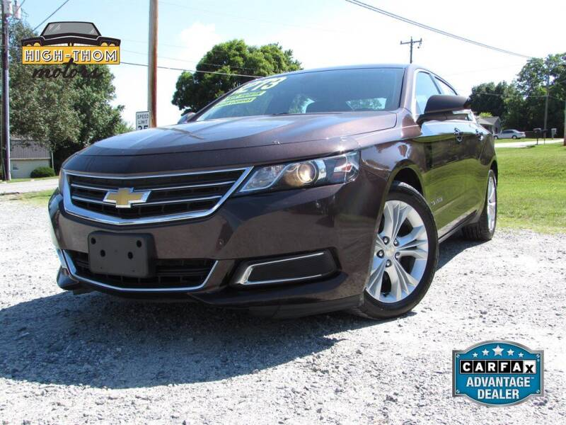 2015 Chevrolet Impala for sale at High-Thom Motors in Thomasville NC