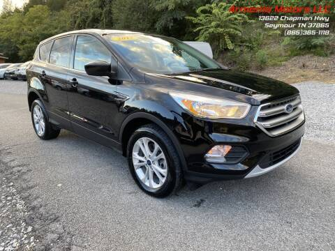 2017 Ford Escape for sale at Armenia Motors in Seymour TN