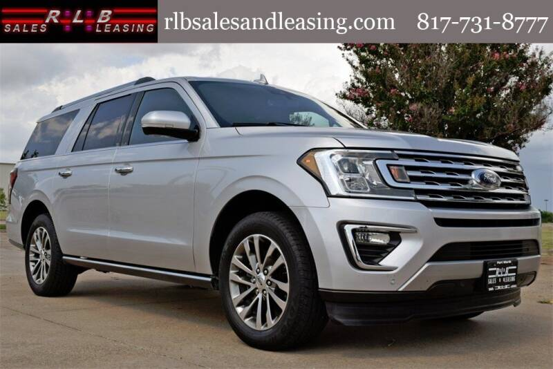 2018 Ford Expedition MAX for sale at RLB Sales and Leasing in Fort Worth TX