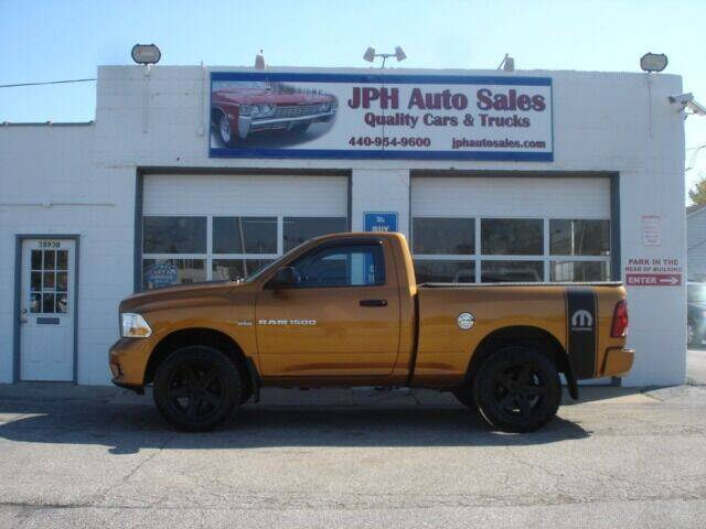 2012 RAM Ram Pickup 1500 for sale at JPH Auto Sales in Eastlake OH