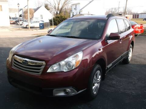 2011 Subaru Outback for sale at Straight Line Motors LLC in Fort Wayne IN