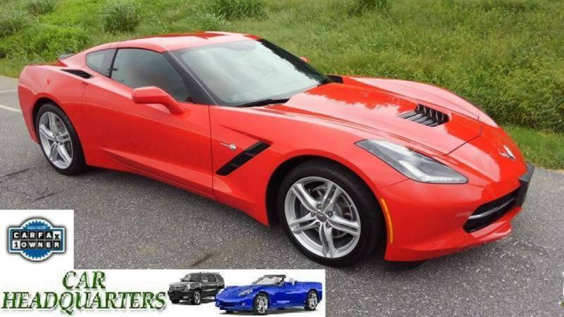 2016 Chevrolet Corvette for sale at CAR  HEADQUARTERS in New Windsor NY
