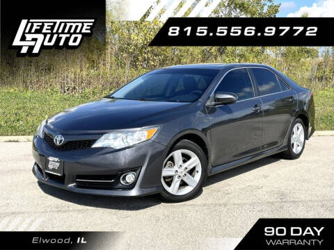 2012 Toyota Camry for sale at Lifetime Auto in Elwood IL
