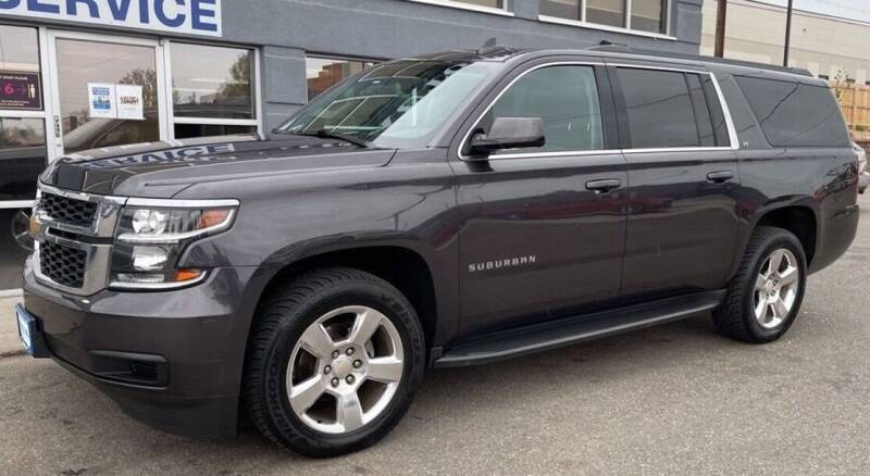 2016 Chevrolet Suburban for sale at Rapp Motors in Marion SD