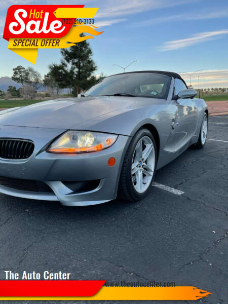 2007 BMW Z4 M for sale at The Auto Center in Las Vegas NV
