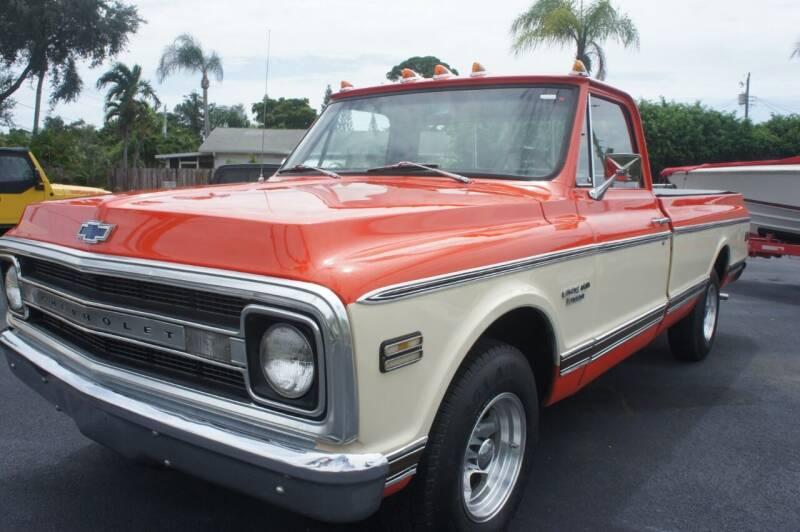 1970 Chevrolet C/K 10 Series for sale at Dream Machines USA in Lantana FL